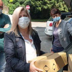 Consegnato il contributo all'Ospedale di Saronno